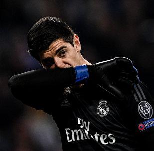 Thibaut Courtois, portero de Real Madrid