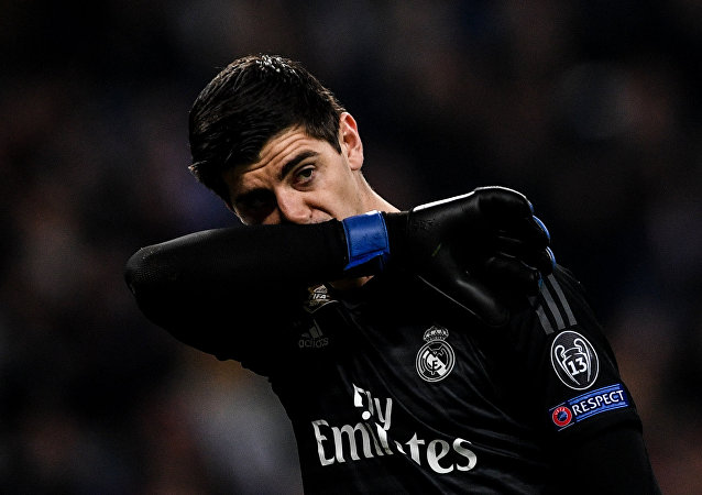 Thibaut Courtois, portero de Real Madrid