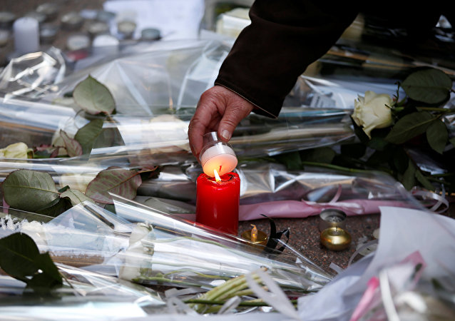 Homenaje a las víctimas del tiroteo en Estrasburgo