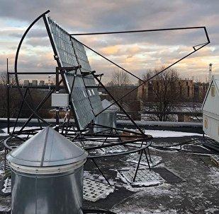 Una instalación solar fruto del MEPhI