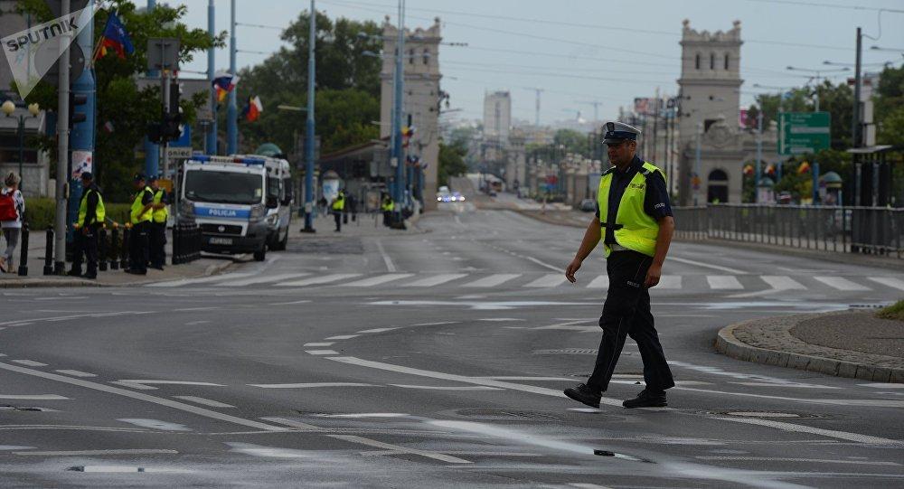 La policía en Polonia
