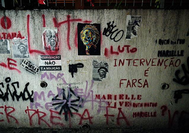 Los retratos de Marielle Franco, la consejal brasileña asesinada