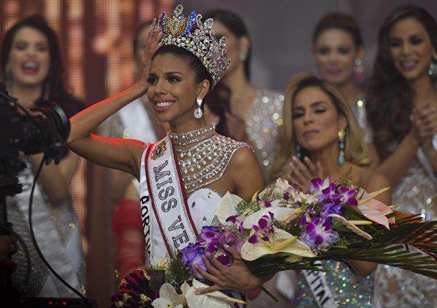 Isabella Rodriguez, ganadora de Miss Venezuela 2018