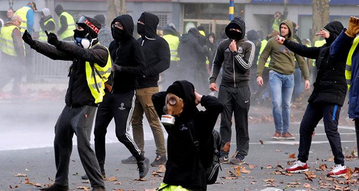 Protestas en Bruselas (archivo)