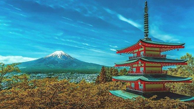 El monte Fuji (Japón)