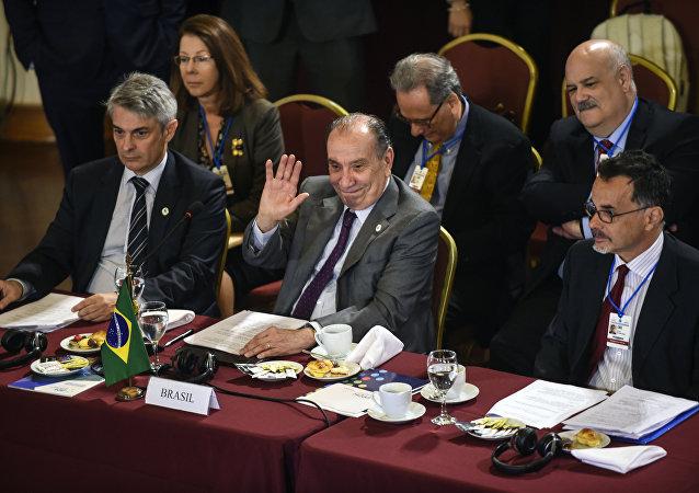 Aloysio Nunes, canciller brasileño