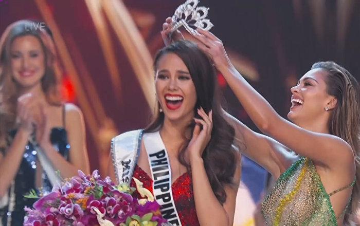 Las emociones de Miss Filipinas al convertirse en la nueva Miss Universo