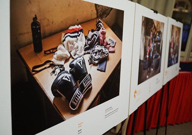 Exposición del concurso Andréi Stenin en Madrid