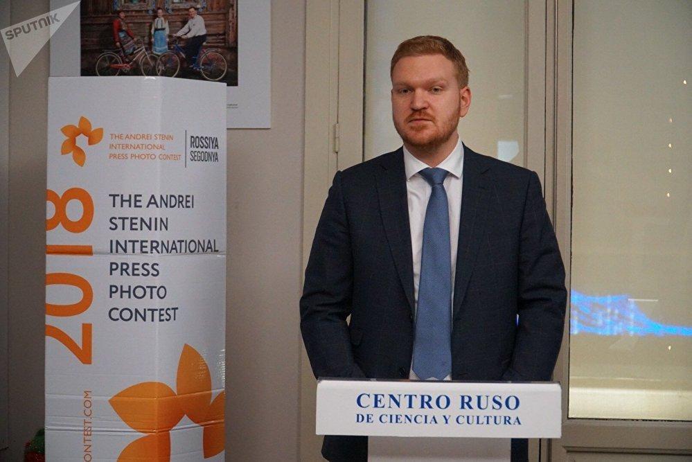 Serguéi Sarímov, el vicedirector del Centro Ruso de Ciencia y Cultura