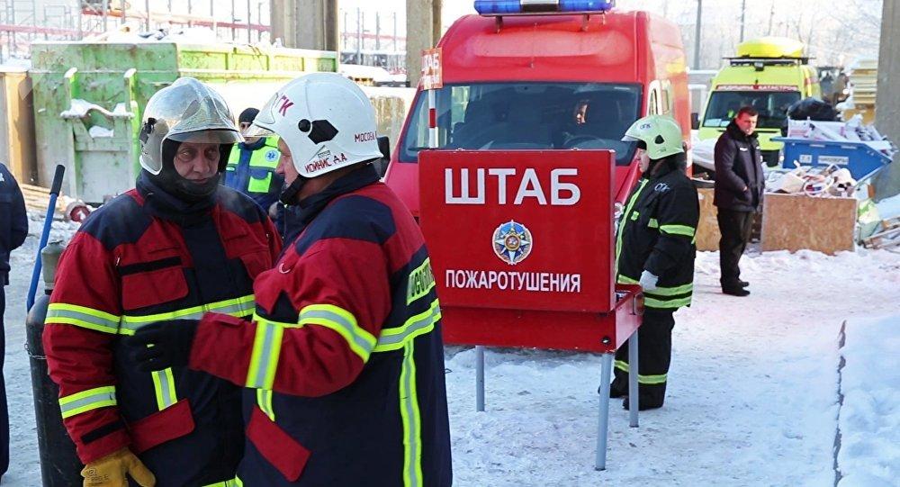 Hallan vivo a bebé tras 35 horas bajo escombros en Rusia