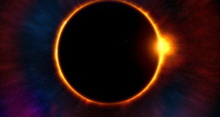 Planeta en el sistema solar (imagen referencial)