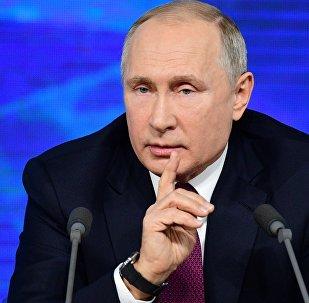 Vladímir Putin, el presidente de Rusia,