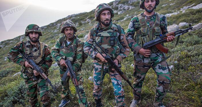 Los soldados sirios