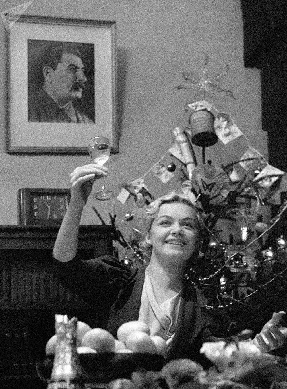 Fiesta de Fin de Año en Moscú (1939)