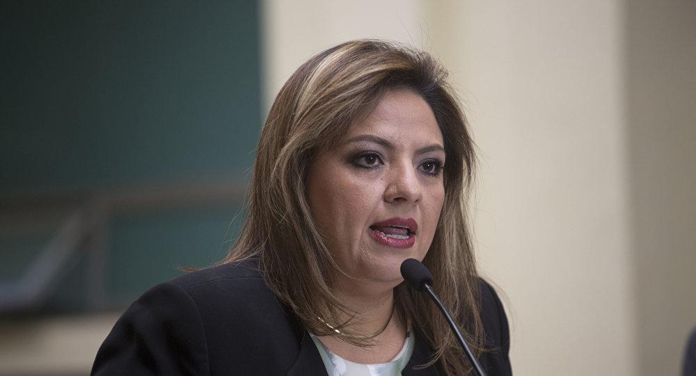 Sandra Jovel, canciller de Guatemala (archivo)