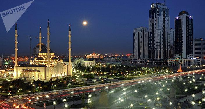 Grozni, la capital de Chechenia