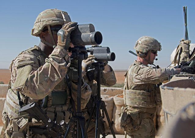 Los soldados estadounidenses en Siria (archivo)