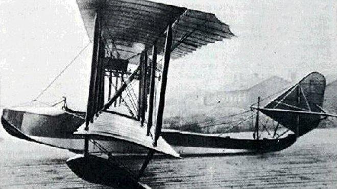 El primer hidroavión ruso M-5