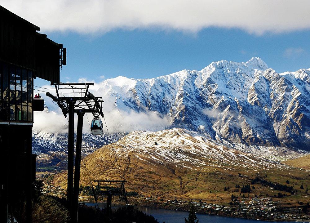 Skyline Gondola, teleférico de Queenstown en Nueva Zelanda