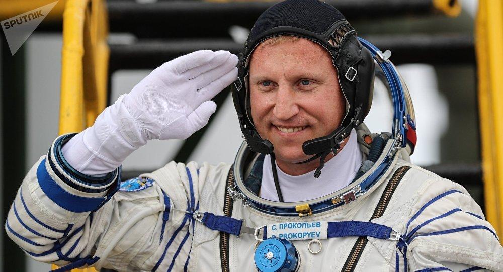 Serguéi Prokópiev, cosmonauta ruso (archivo)
