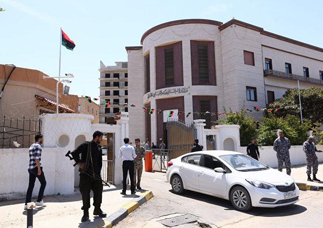 La Cancillería libia (archivo)
