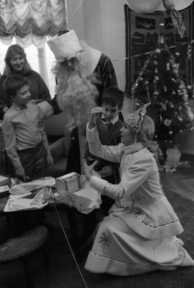 De vuelta a la URSS: así se celebraba el Año Nuevo en la época soviética
