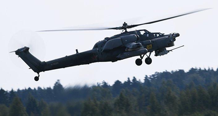 Helicóptero de ataque Mi-28N Cazador Nocturno, foto archivo