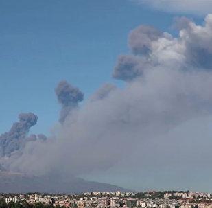 El Monte Etna en Sicilia
