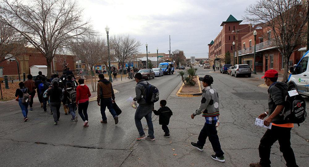 Migrantes cenrtroamericanos en EEUU