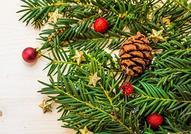 Un árbol de Navidad