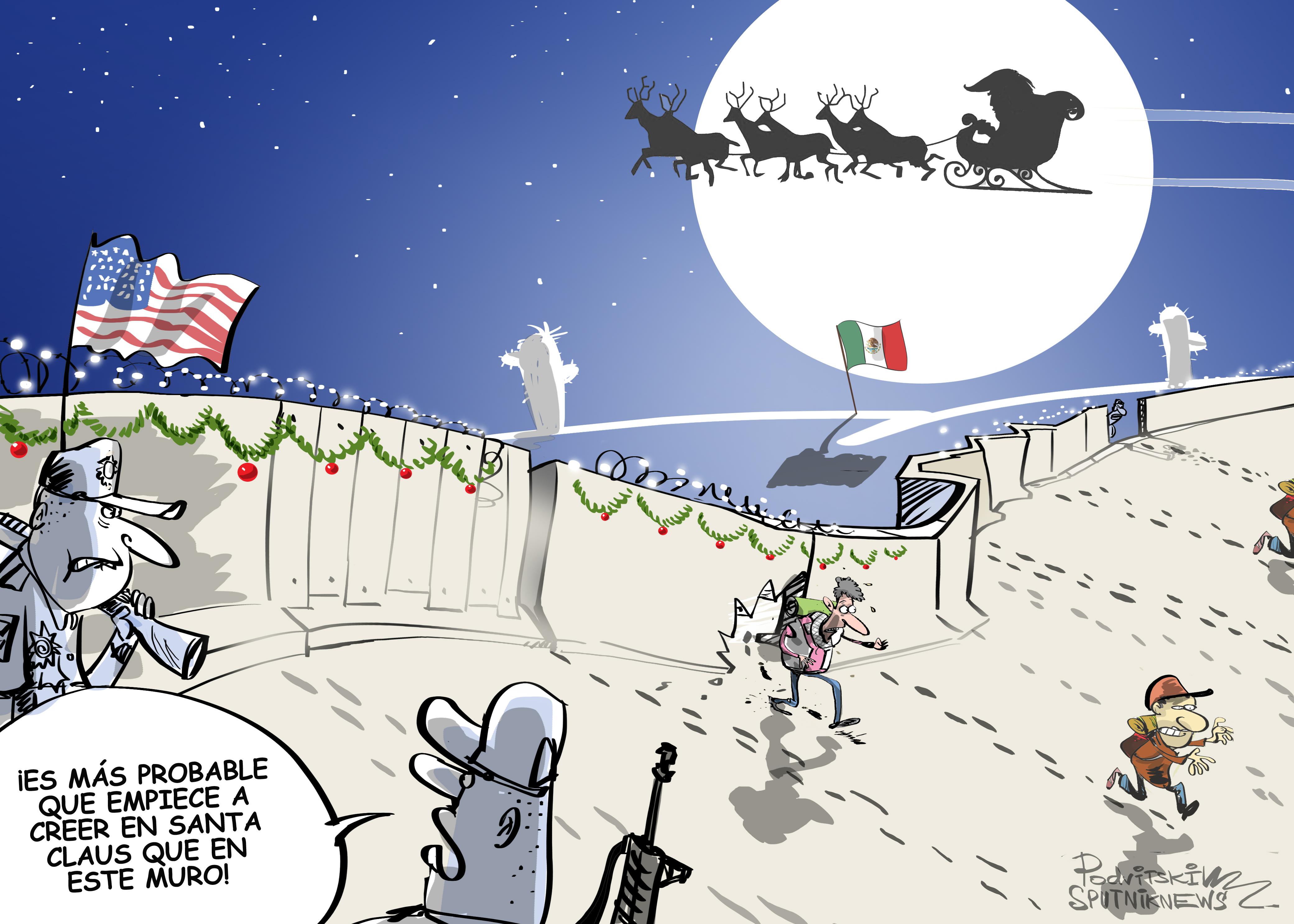 Trump le roba la Navidad a un niño de 7 años y… miles de migrantes