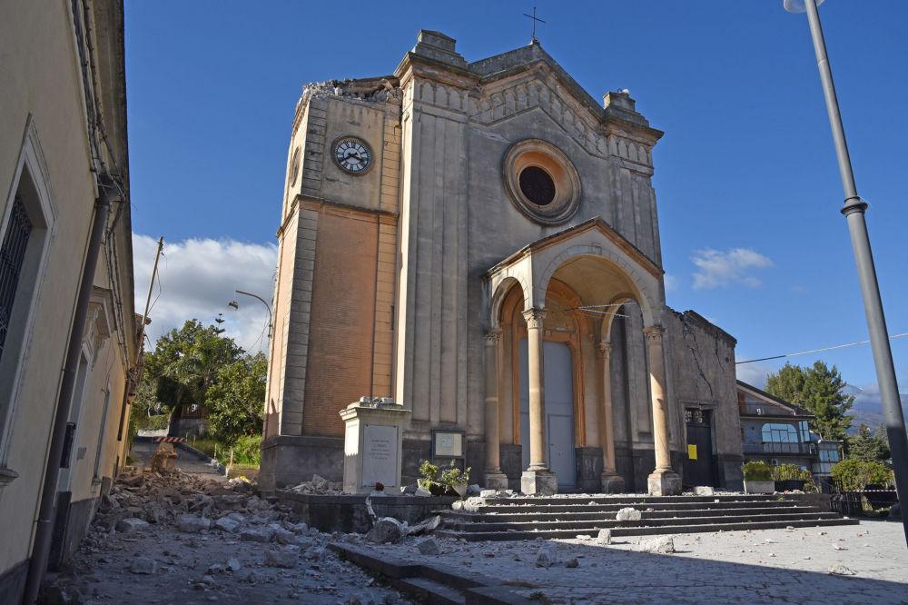 Las consecuencias del devastador terremoto en Italia