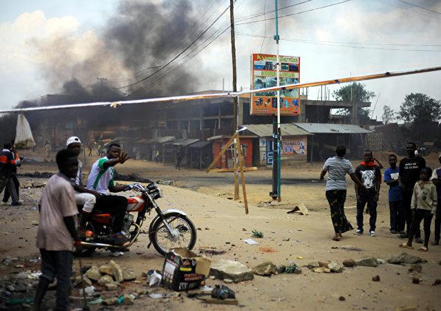 Protestas en la ciudad de Beni, RD Congo