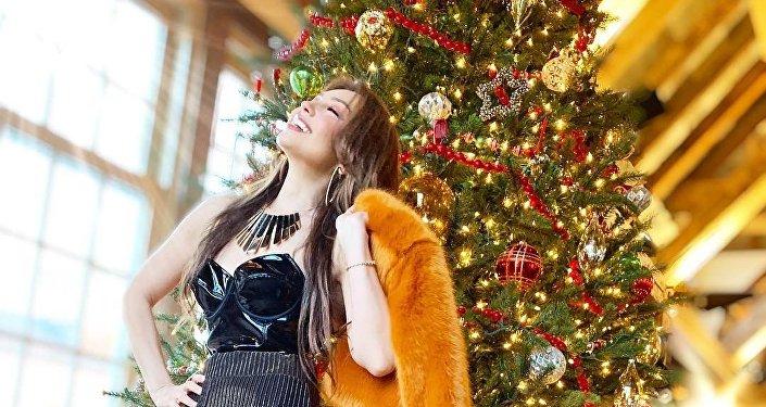 La cantante mexicana Thalía