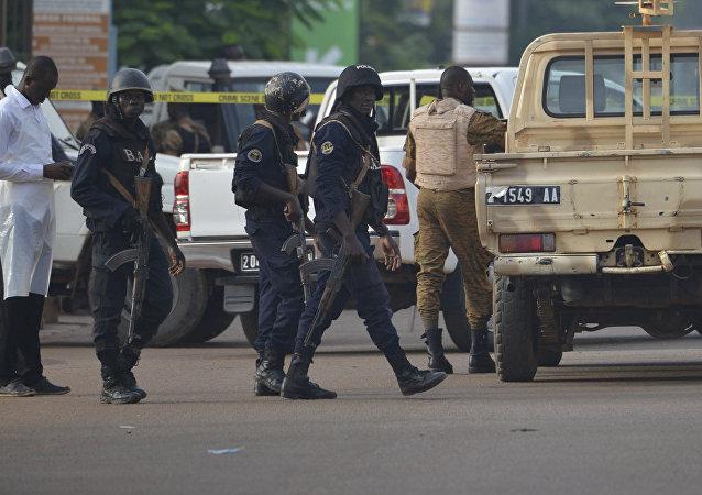 Fuerzas de seguridad en Burkina Faso (Archivo)