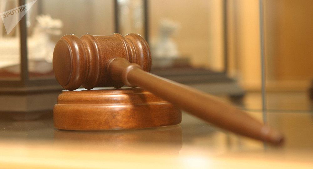 Martillo del juez (imagen referencial)