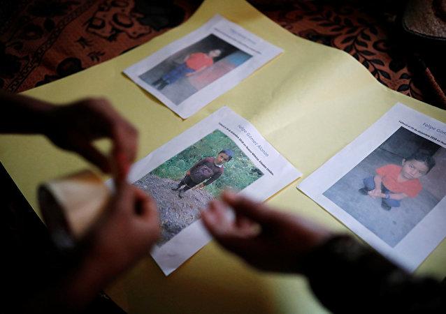 Las fotos del niño guatemalteco Felipe Gómez