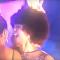 El cabello de una joven se incendia segundos después de ser coronada Miss África
