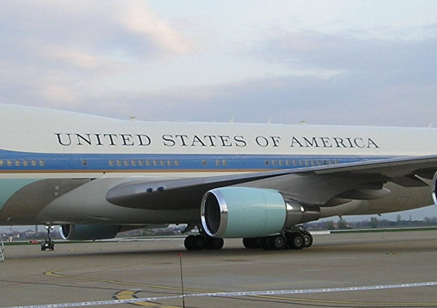 Air Force One, avión presidencial de EEUU, foto archivo