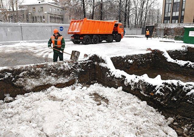 Un punto de fusión de Mosvodostok