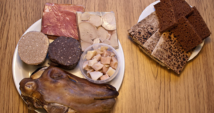 Smalahove, o cabeza de una oveja, plato tradicional en Noruega y otros países escnadinavos