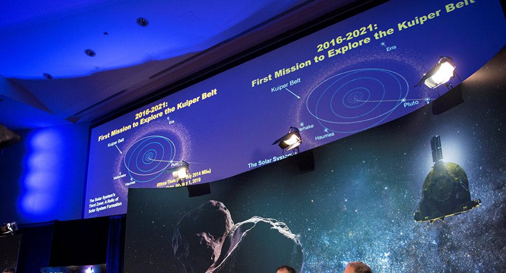 El equipo de investigación de la sonda New Horizons