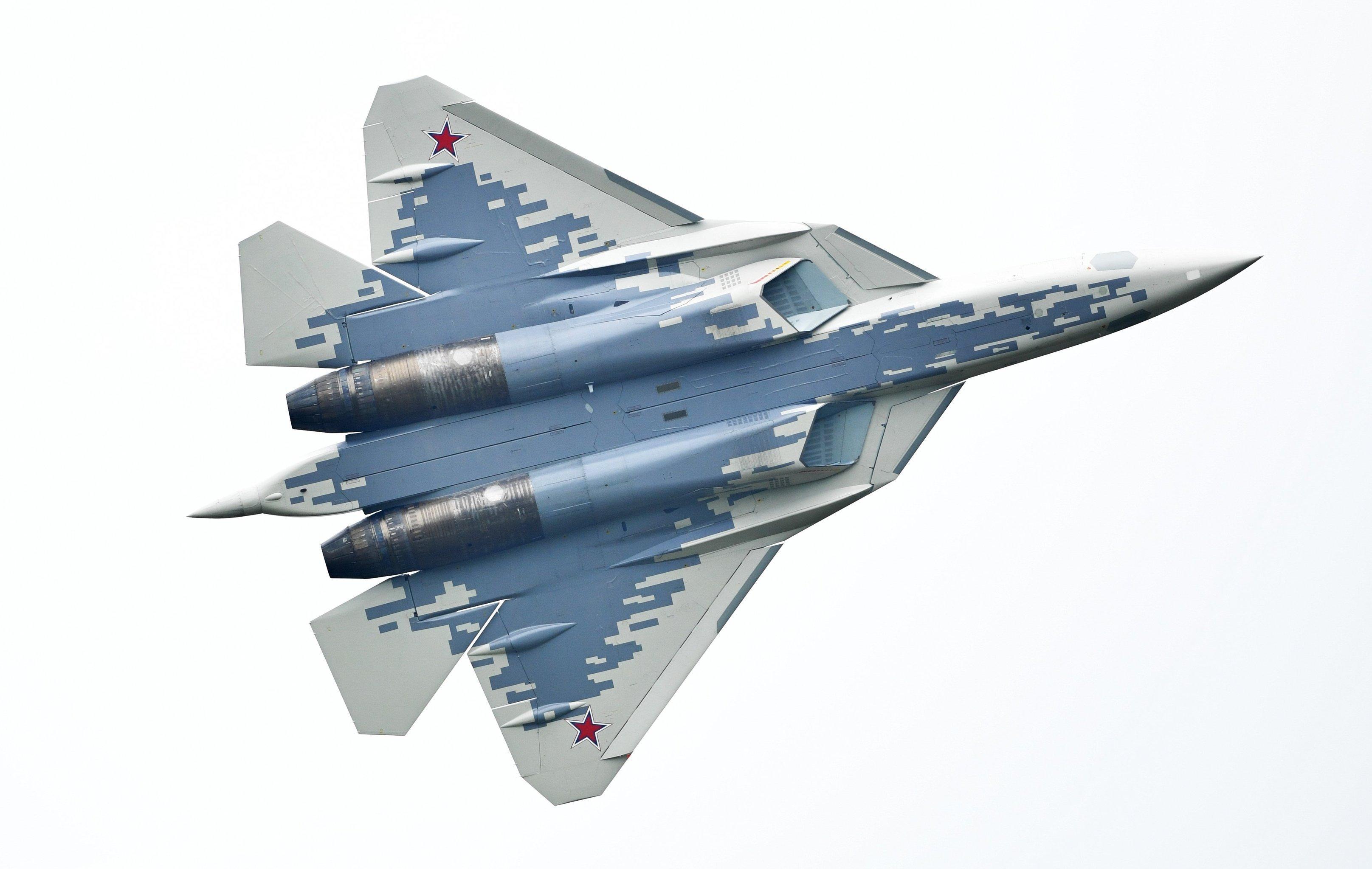 El caza ruso de quinta generación Su-57