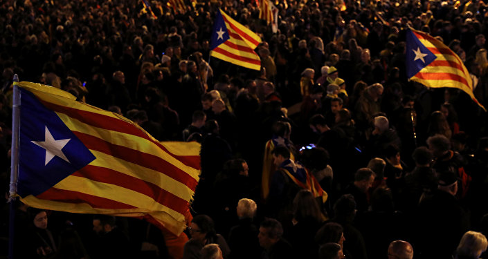 Manifestación en Cataluña (Archivo)