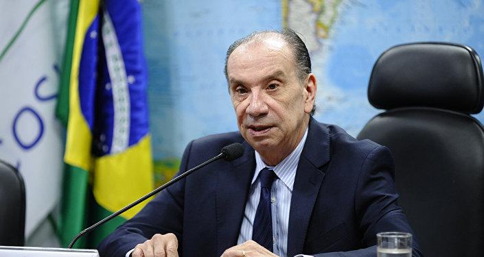 Aloysio Nunes, excanciller brasileño