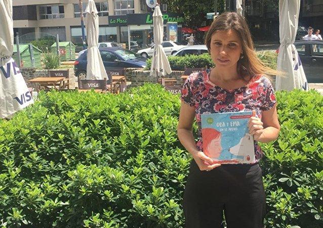 Mercedes Lafourcade, fundadora y directora de Editorial Basilisa