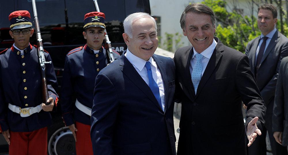 Resultado de imagen para Bolsonaro Netanyahu