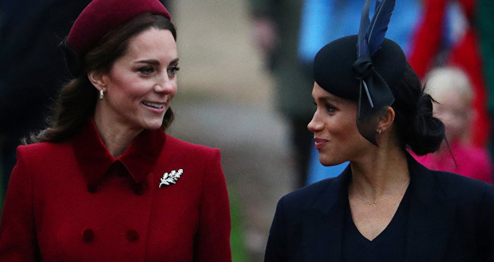 Meghan y Kate, las duquesas de Cambridge y de Sussex