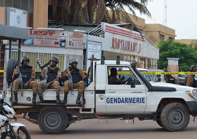 Fuerzas de seguridad en Ouagadougou, Burkina Faso (archivo)