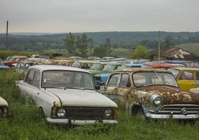 Automóviles soviéticos (imagen ilustrativa)